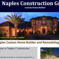 Naples Construction Group is owned and operated by a State Certified General Contractor. We specialize in a wide variety of construction services, including new custom homes, custom remodels, roof repairs and inspections, concrete restoration, home inspections, and commercial build outs. We are a complete home building and property service company serving Southwest Florida.