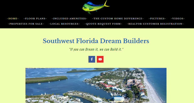 Southwest florida custom home builder find your for Find a home builder